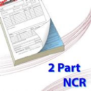 A5 (148mm x 210mm) 2 Part NCR Book